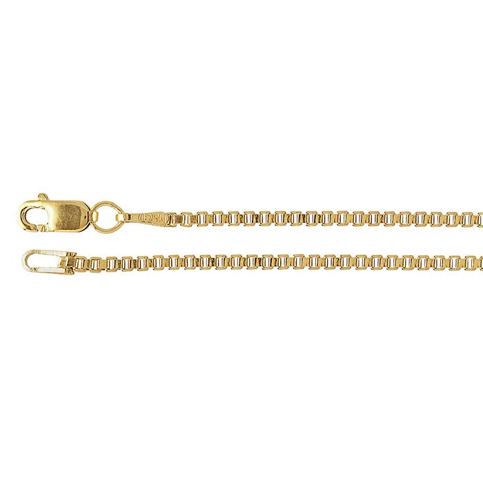 14/20 Yellow Gold-Filled Box Chains