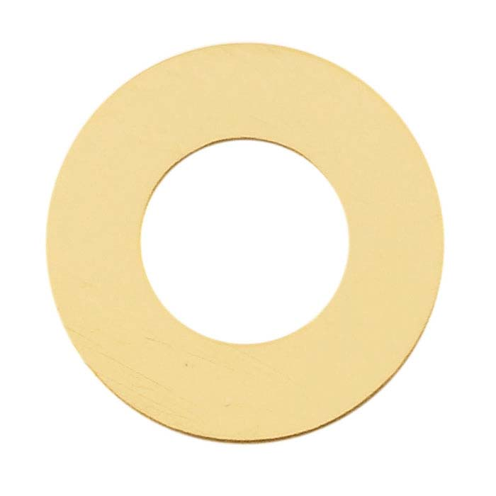 14/20 Yellow Gold-Filled Washer Stampings