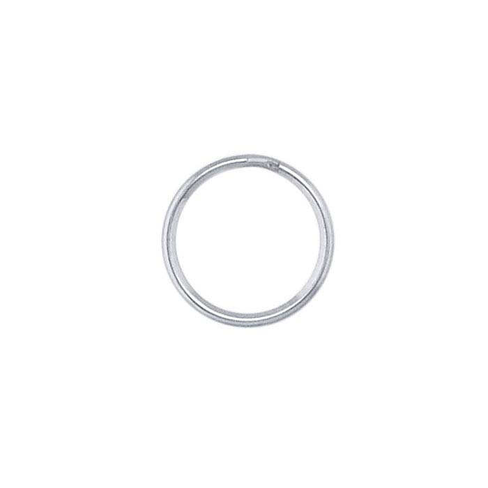 Stainless Steel Nickel-Plated Round Split Rings
