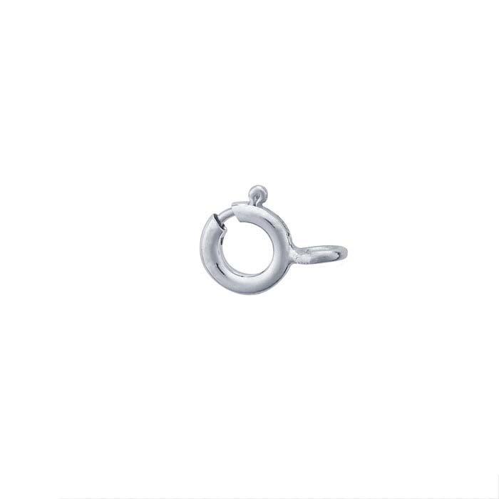 Sterling Silver Open-Ring Spring Ring Clasps