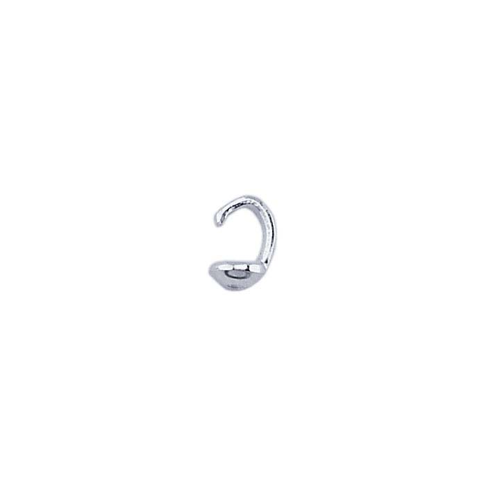 Sterling Silver Single-Cup Bead Tips