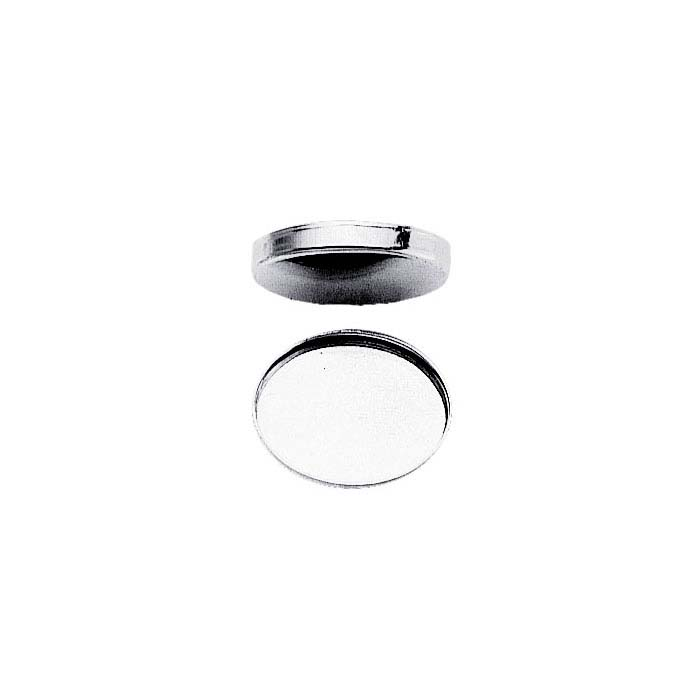 Sterling Silver 30 X 22mm Oval Bezel Cup Setting