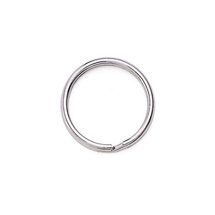 Base Metal Split Key Ring