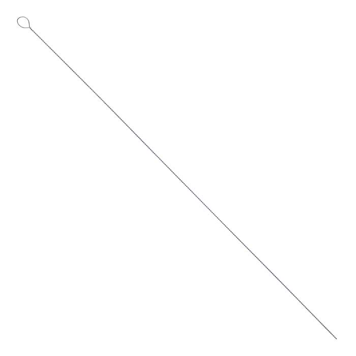 "Beadalon® Twisted Beading Needle, Fine, 31/2""L x .009"" dia."