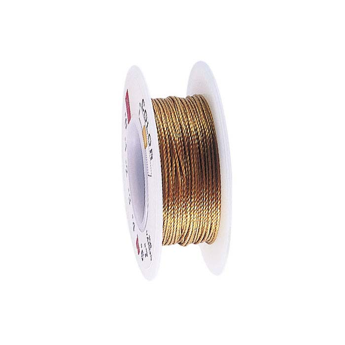 Stringth #3 Gold Bead Cord, 20 Yds.