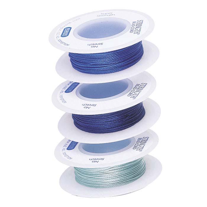 Stringth #3 Cool Colors Bead Cord Assortment
