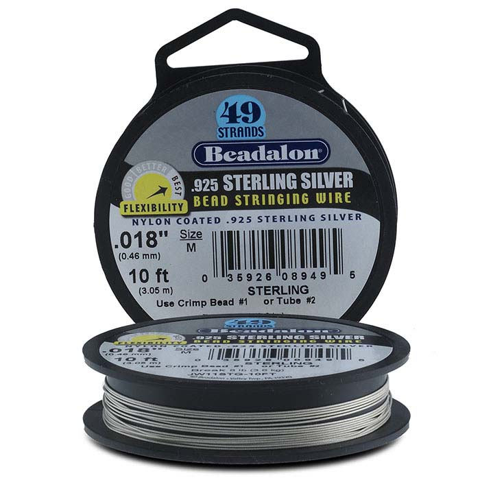 Beadalon® Professional Series 49-Strand .925 Sterling Silver Wire ...