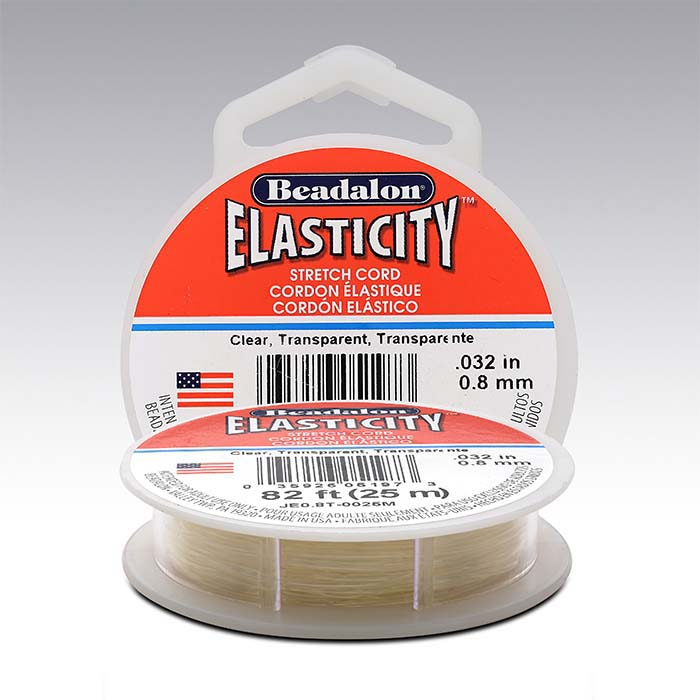 Beadalon® Elasticity™ Clear Stretch Cord