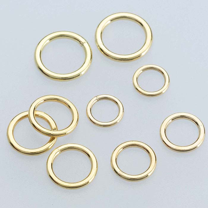 14/20 Yellow Gold-Filled 3mm Round Closed Ring