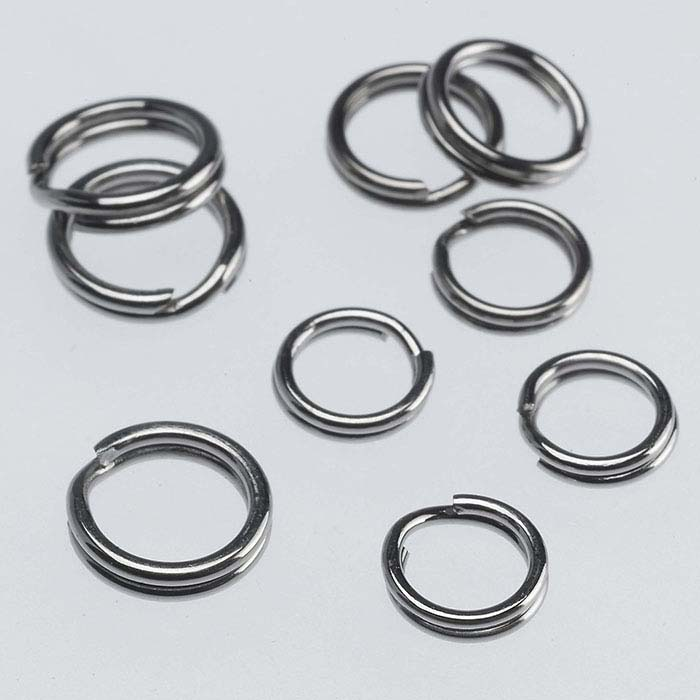 Stainless Steel Round Split Rings