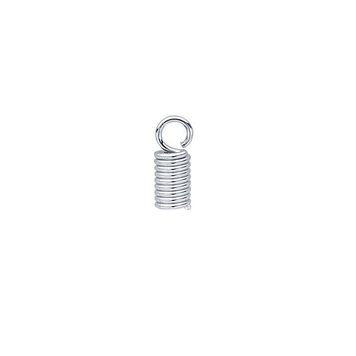 Brass Nickel-Plated Coil End Cap