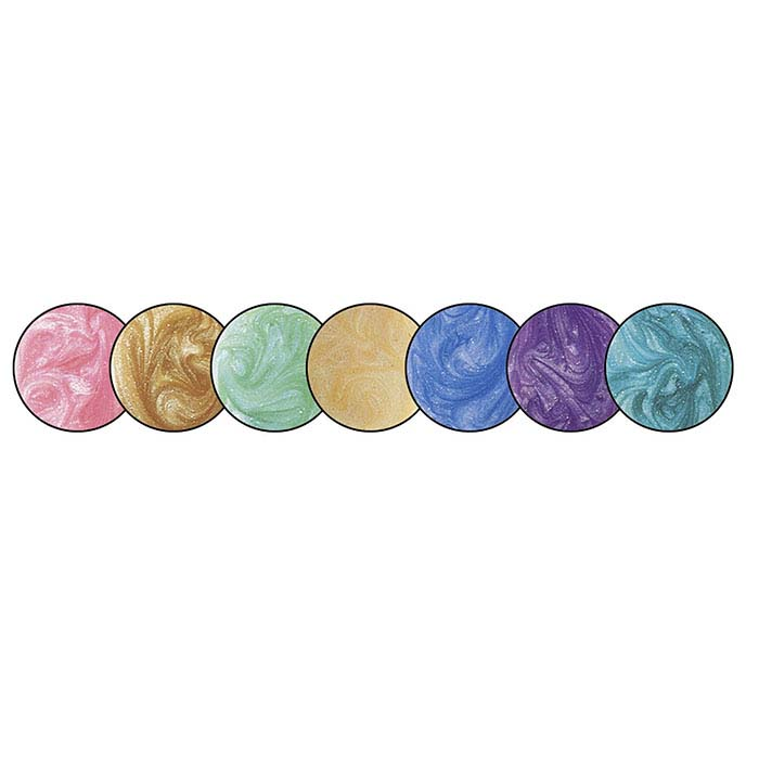 Colores™ Epoxy Resin Pastel Pearl Colors Set