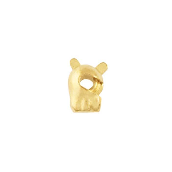 14K Yellow Gold Standard Pin Catch