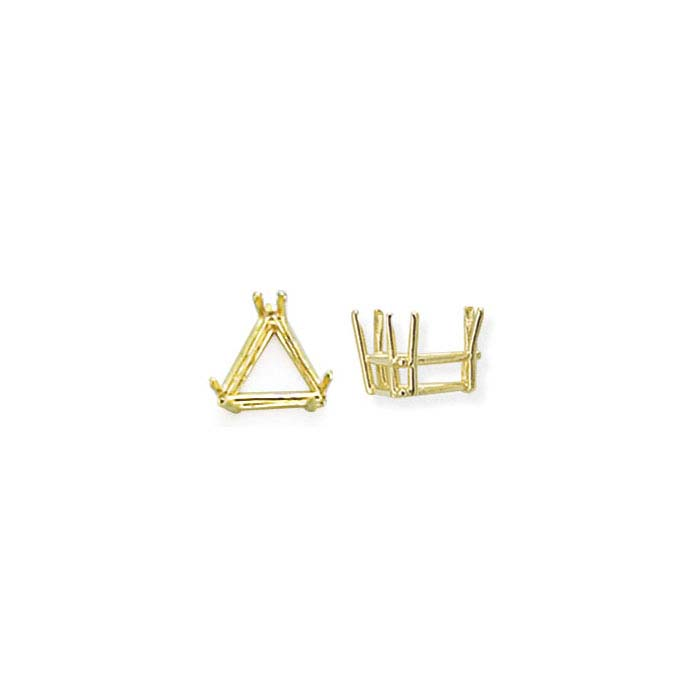 14K Yellow Gold Triangle ReadySet™ 6-Prong Settings