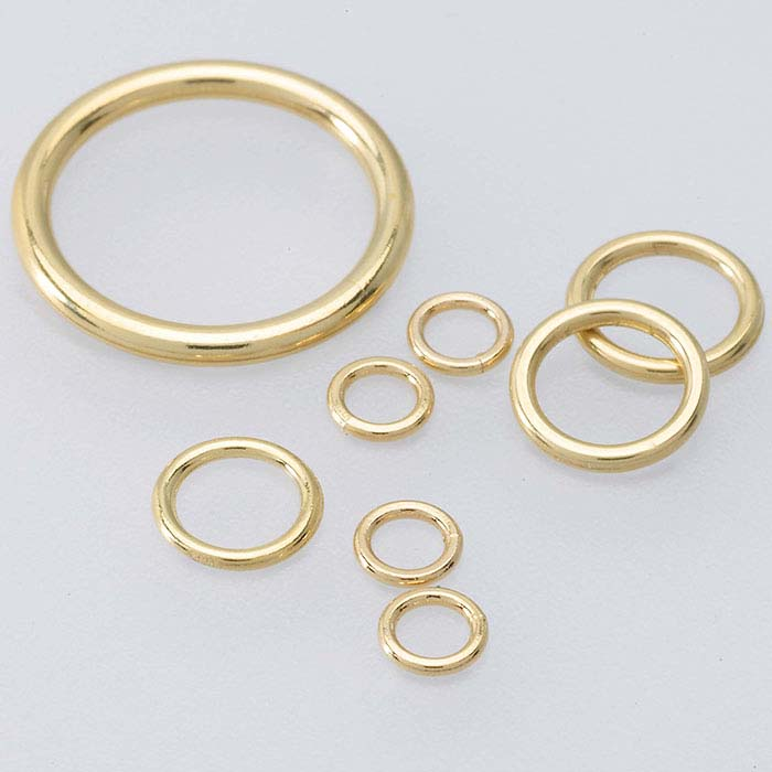 14K Yellow Gold 2.5mm Round Closed Ring