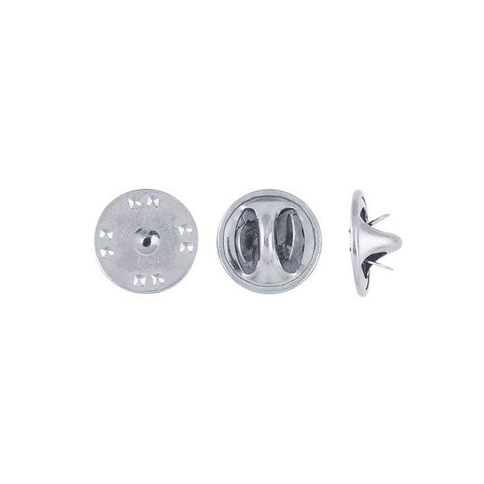 Base Metal Nickel-Plated Scatter Pin Clutch