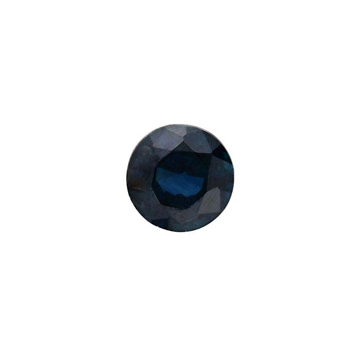 Sapphire 3mm Round Faceted Stone, AA-Grade
