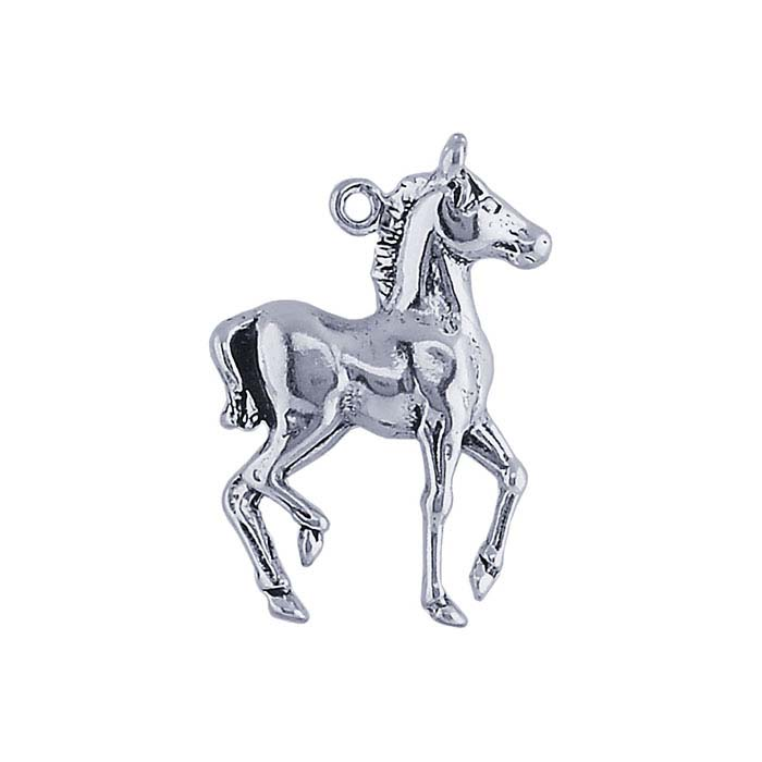 Sterling Silver Pony Charm