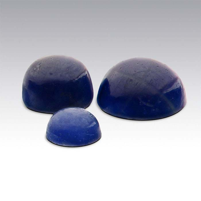 Sapphire 4mm Round Cabochon