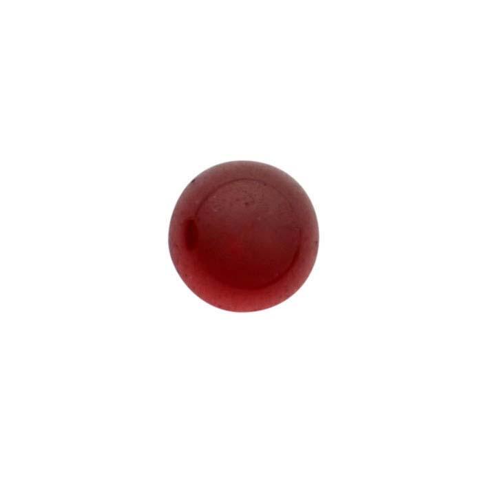 Garnet 3mm Round Cabochon