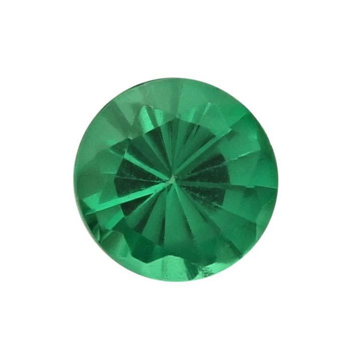 Tsavorite Garnet Round Faceted Stones, AAA-Grade