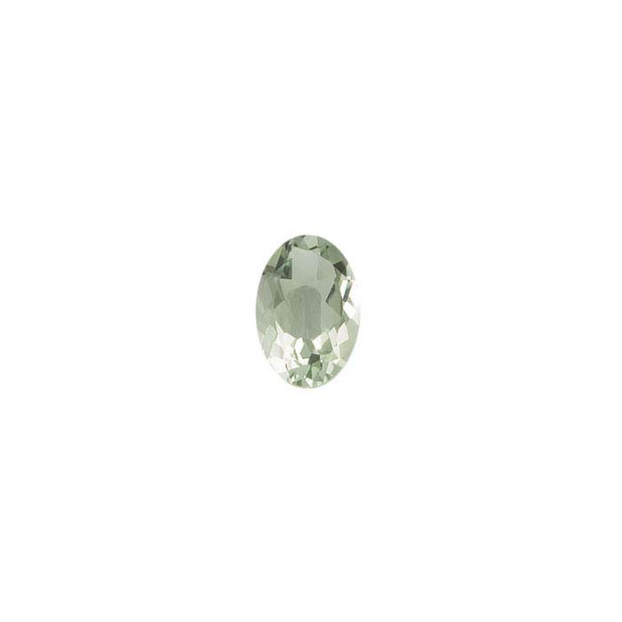 Green Quartz Oval Faceted Stone,s AA-Grade