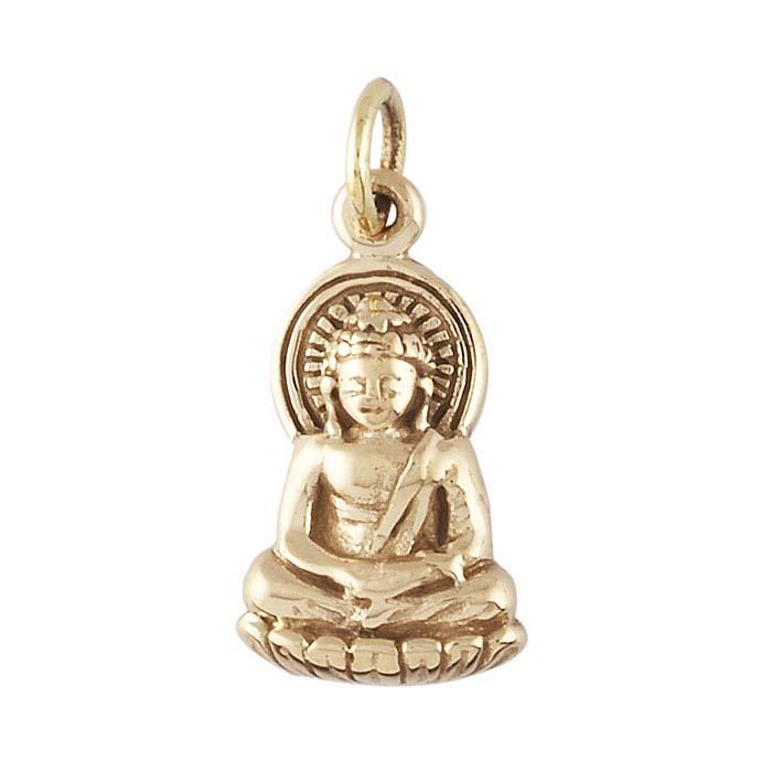 Bronze Buddha Charm
