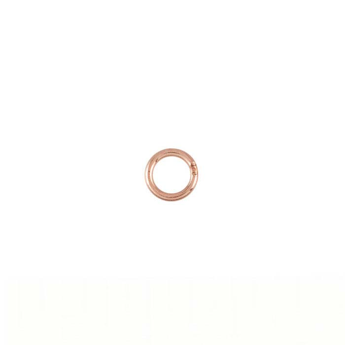 14/20 Rose Gold-Filled Round Closed Rings