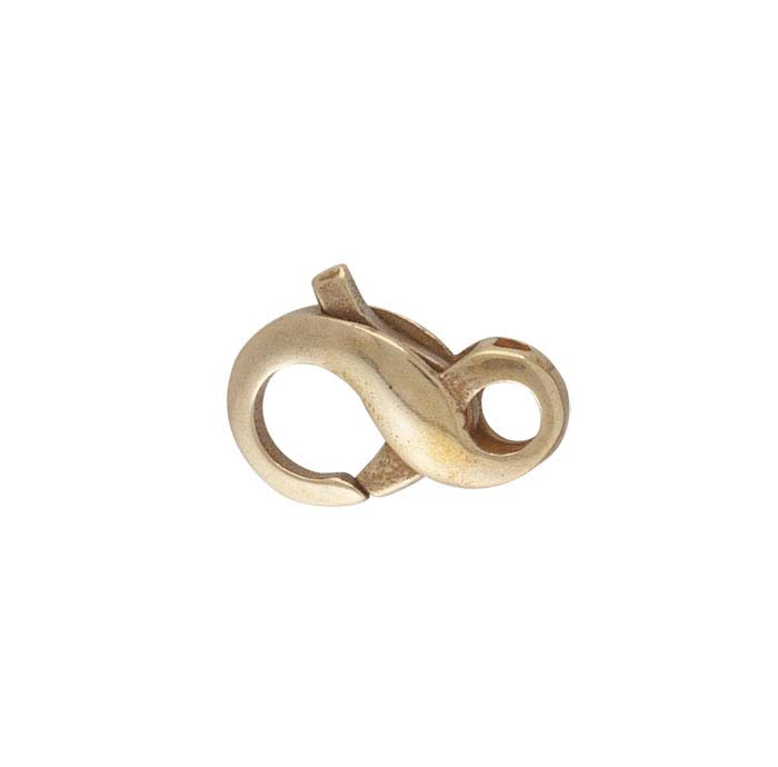 Bronze Figure-Eight Lobster Clasp