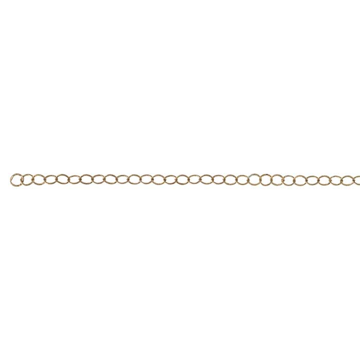 Bronze 3.6mm Flat Cable Chain, 20-ft. Spool