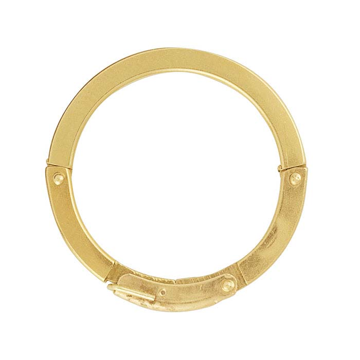 14K Yellow Gold FingerFit® Expandable Ring Shank