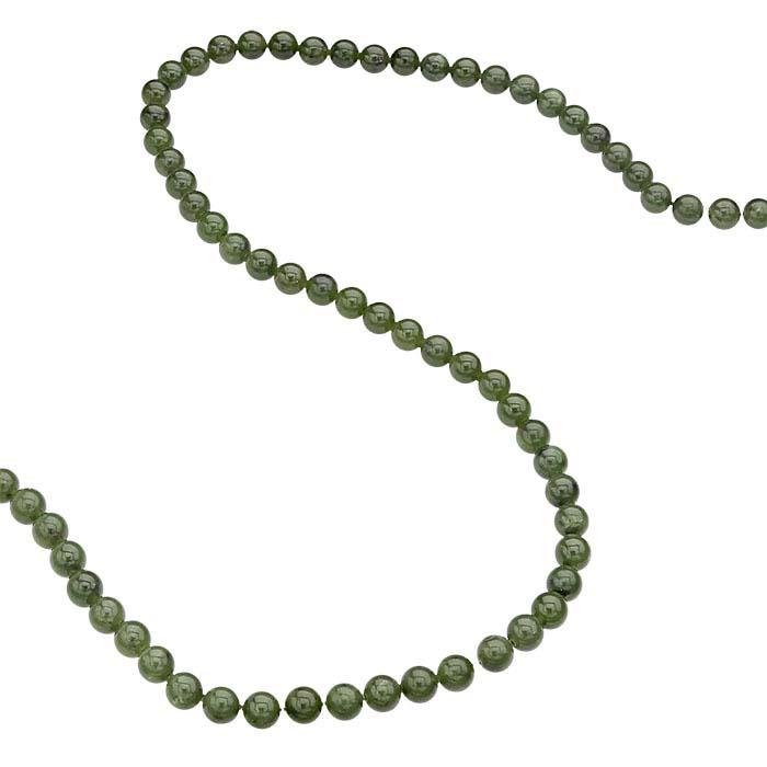 Jade 6mm Round Bead Strand