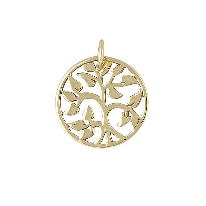 "Bronze ""Tree of Life"" Charm"