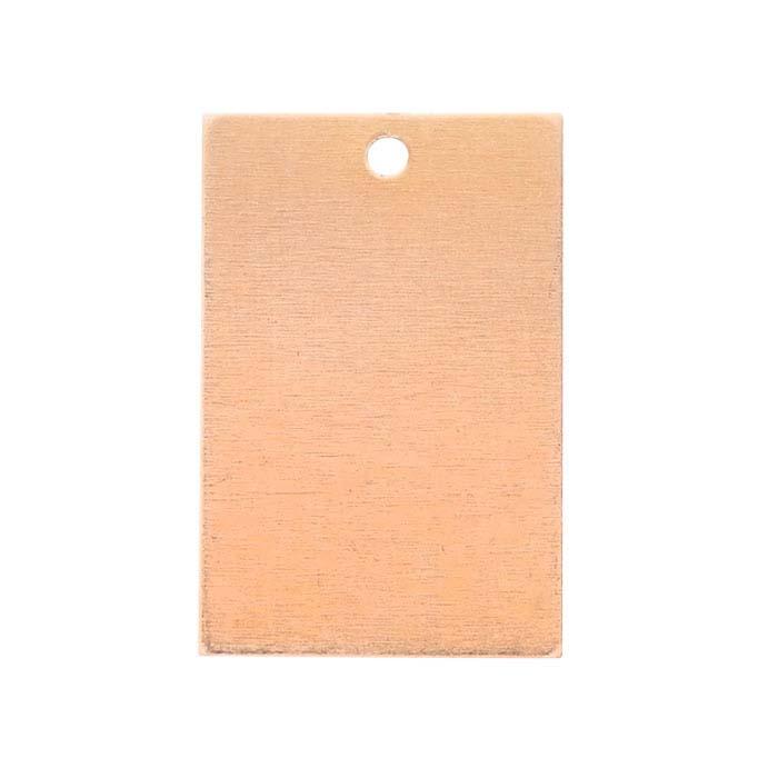 Copper Rectangle Pendant
