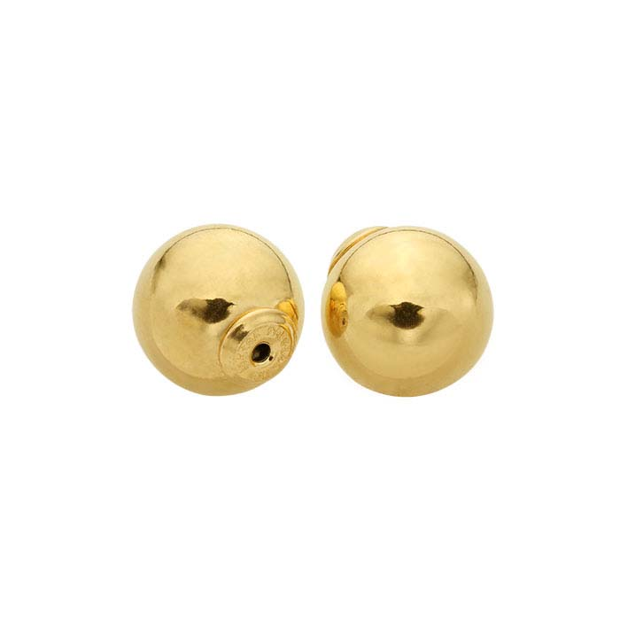 LuxLock™ 14/20 Yellow Gold-Filled Ball Earring Backs