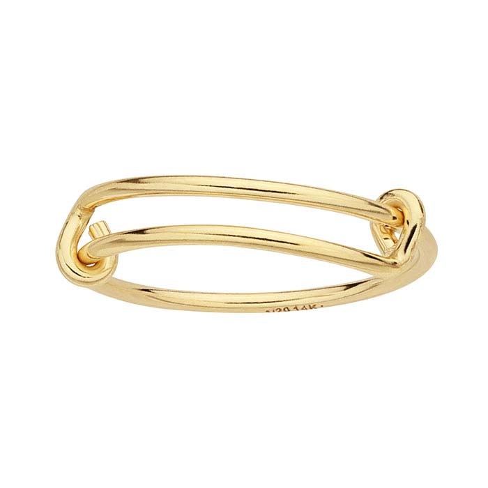 14/20 Yellow Gold-Filled Expandable Wrap Rings