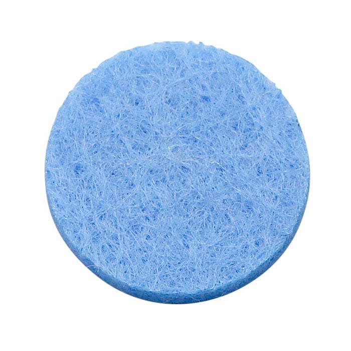 Blue Felt Pad for 30mm Round Aromatherapy Locket