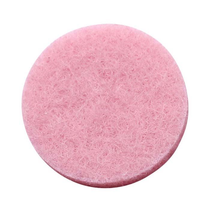 Pink Felt Pad for 30mm Round Aromatherapy Locket