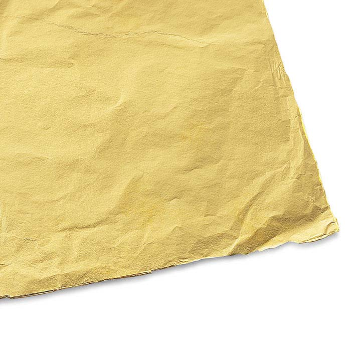 23K Yellow Gold Metal Patent Leaf