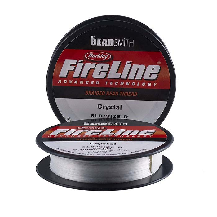 "FireLine® Crystal Clear .006"" Bead Thread, 50 Yds."