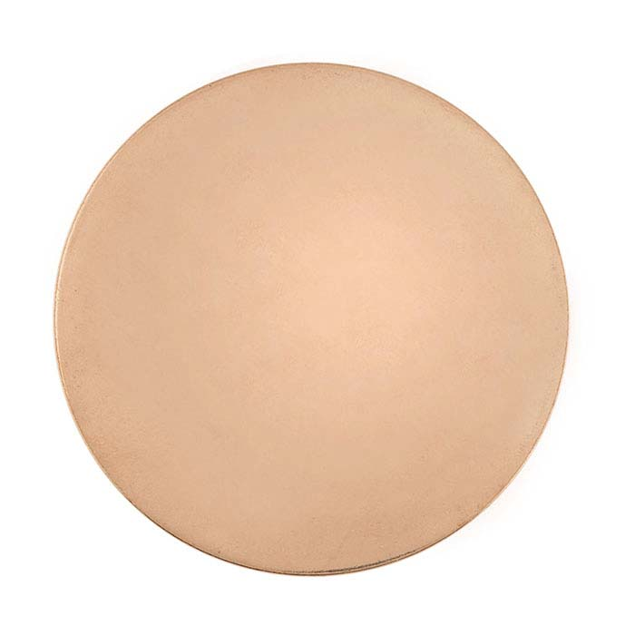 Copper 12.7mm Disc, 18-Ga.
