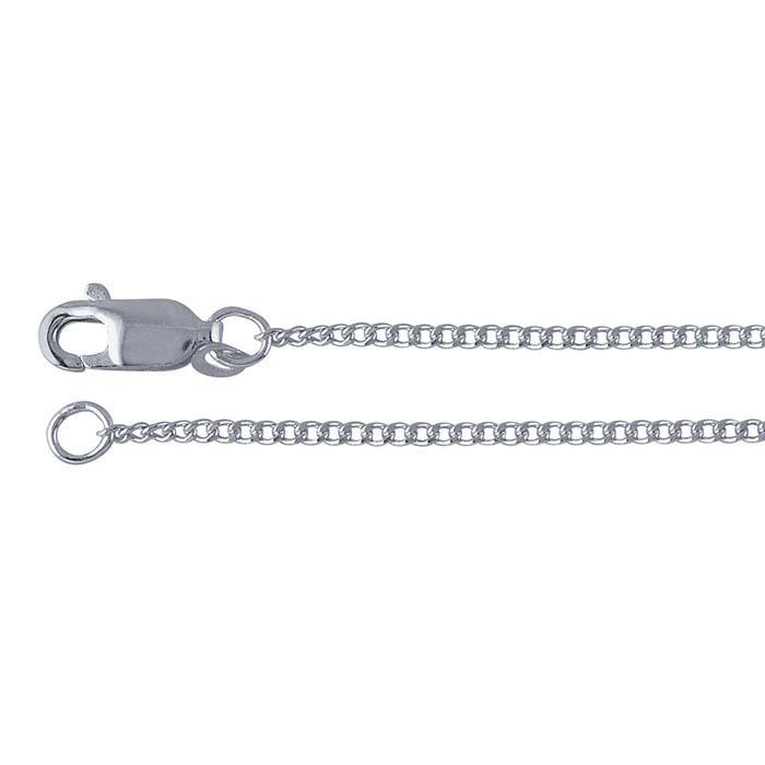 Argentium® Silver Curb Chains