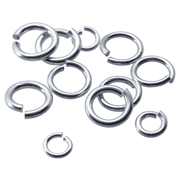 3d73dbadcfaad Argentium® Silver 5.5mm Round Jump Ring