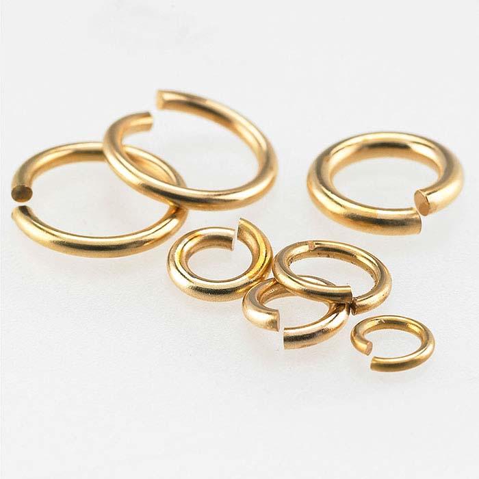 Bronze Round Jump Rings