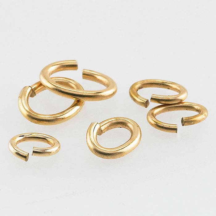Bronze Oval Jump Rings