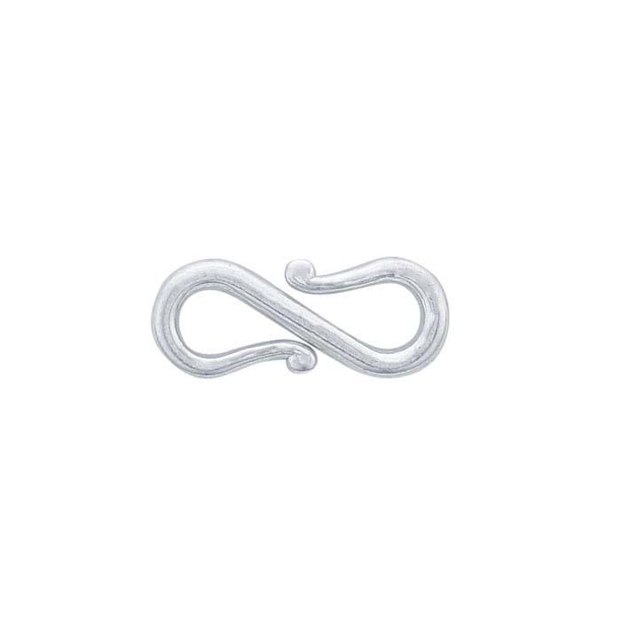 Argentium® Silver S-hook Clasp