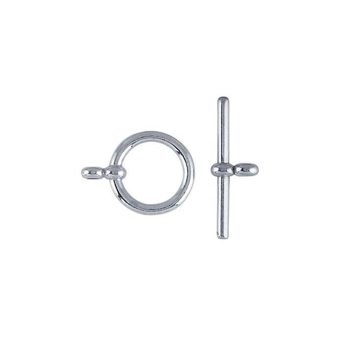 Argentium® Silver Toggle Clasp
