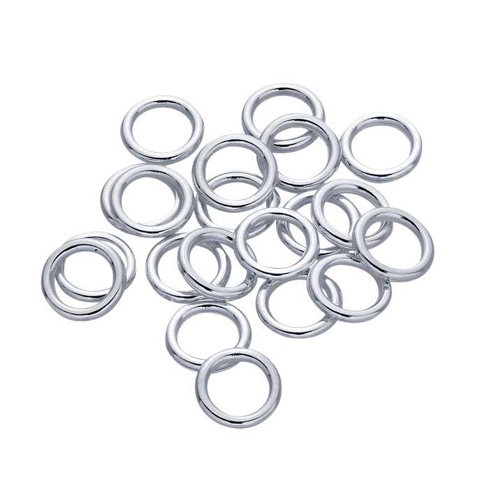 Argentium® Silver 3mm Round Closed Ring