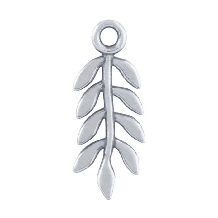 Sterling Silver Leaf Component
