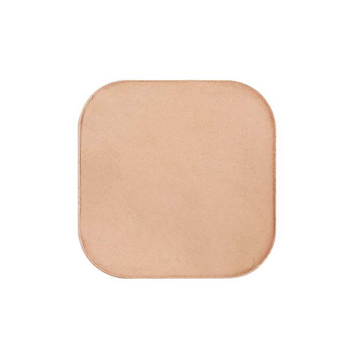 Copper Rounded Square Stampings, 18-Ga.